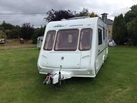 2001 compass touring caravan