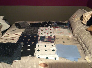 Quilting and other material