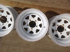 Ford 5 bolt steel rims