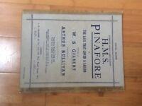 HMS Pinafore Music Score