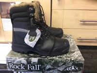 ROCKFALL Safety Boots Size 8