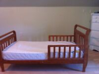 Toddler bed with or without mattress