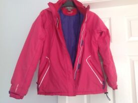 "Girls Regatta Jacket/Coat Size 32"" approx 11-12 years"