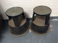Mobile step/stools