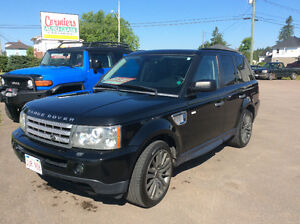 2009 Land Rover Range Rover Sport Black package SUV, Crossover