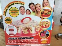 Party transporter and food holder