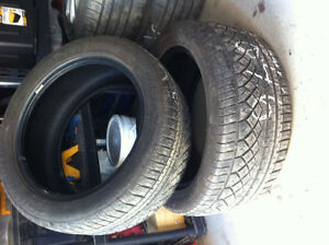 Continental ExtremeContact DWS 275/45/19 Tires