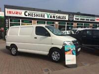 2011 11 TOYOTA HI-ACE 2.5 280 SWB D-4D 94 BHP 1 OWNER FROM NEW FSH AIR CON