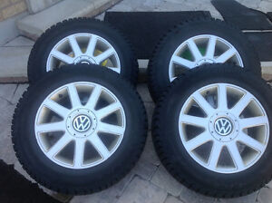 VW winter tire and mats