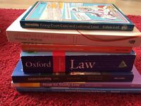 Selection of books to supplement Law degree/pre-application