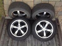 TourKen rims and tires