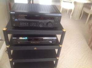 Sony 5 Disc CD Player/Sony Receiver/Microphone