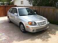 2005 Hyundai Accent GS Coupe (2 door) SAFETIED $2200