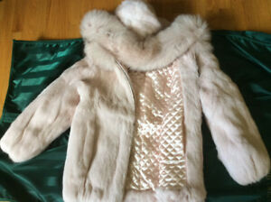 Child's fur jacket in time for Christmas and the cold!