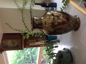 Beautiful vase gold color