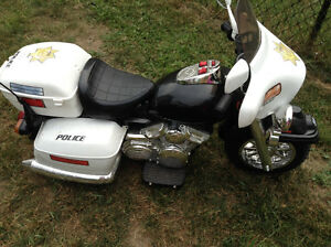 12 volt Police Motorcycle