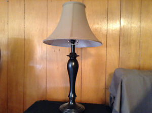 Small table,cabinet,lamps
