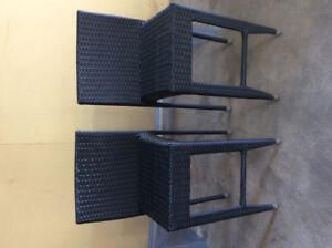 EUC Bar Height Outdoor Chairs