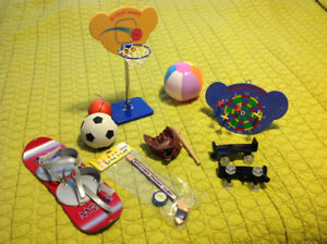 Build-a-Bear (Koala & Monkey) & Assorted clothing & accessories