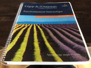 Environnement bureautique 412-410-HU CÉGEP de l'Outaouais