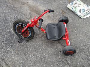 Lightening McQueen low rider trike