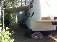 FOR SALE IN PINE LAKE - Leisure Campground 5th Wheel / Turn-Key