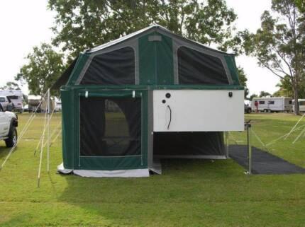 PIGGYBACK  original brand slide on camper Victoria Point Redland Area Preview