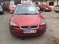2006 MY Ford Focus 1.6TDCi Zetec Climate Manual Diesel Hatchback in Metallic Red