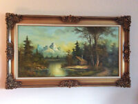 Beautiful Framed Original Oil Painting