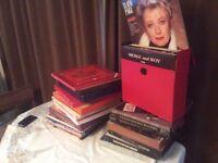 Bundle of 180+ LPs.