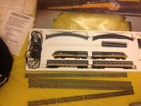 Hornby intercity 125 electric train set vintage rare boxed collectable