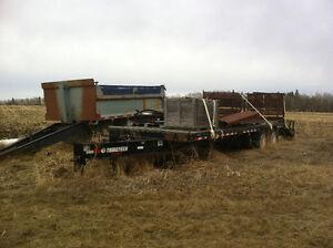 40000lb Trailtech tandem Pintle Heavy EQT Beavertail
