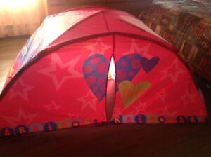 Tente de lit simple Barbie