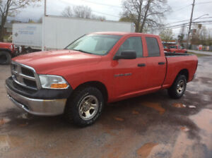 2012 Dodge 1500 SLT4x4  4.7, 3 mth Powertrain Warranty$8750.