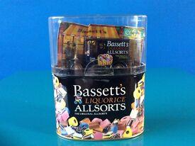 """DIE CAST MODEL T FORD """"BASSETT'S LIQUORICE ALLSORTS VAN"""""""