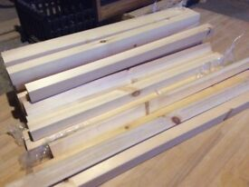 Pine Wood NEW . 28 lengths available