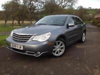 Chrysler Sebring 2.0CRD Limited DIESEL, GENUINE LOW MILES, 89K 09 PLATE CAR, S/H