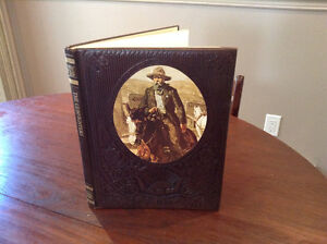 TIME/LIFE BOUND SERIES OF 9 WILD WEST BOOKS