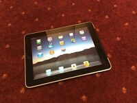 Apple iPad 1 wifi plus sim EE with new docking charging station £99!!!
