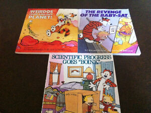 Calvin and Hobbes books