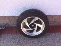 Motorbike Wheel & Tyre