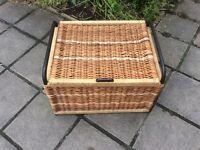 Large Wicker Storage/Laundry Basket.