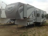 2011 CYCLONE 3612HD WINTERIZED TOY HAULER