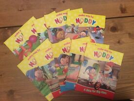 10 Noddy books Make way for Noddy collection