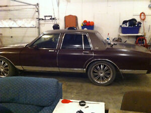 1984 Caprice For DirtBike