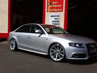 B8 and b9 Audi A4 sline kit for se modle also spoilers fit sline model