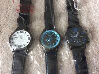 Brand new quartz designer watches