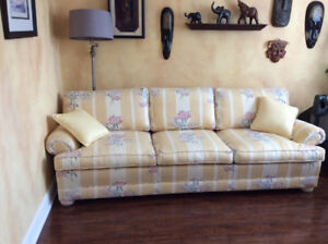 Designer Custom Upholstered Couch in Perfect Condition