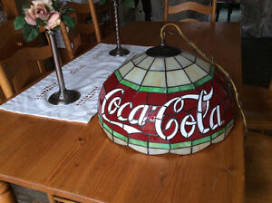 Coca Cola light fixture