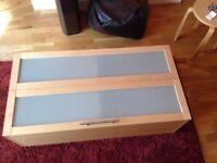 Assembled Ikea kitchen cupboard
